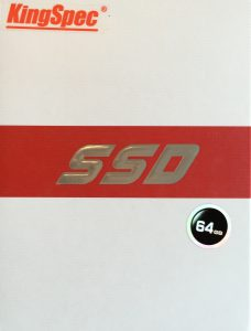 SSD package front